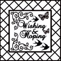 Wishing and hoping page pack  sold in 3's